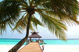 Un hermoso lugar de playa