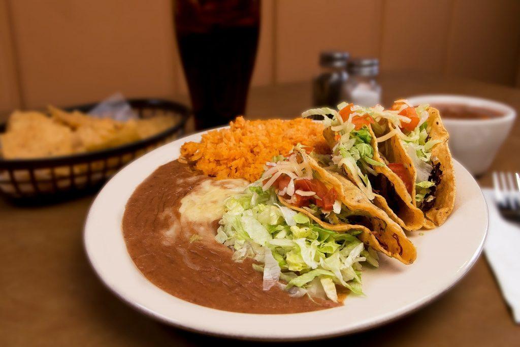 Prueba la comida mexicana.