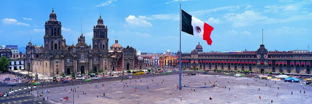 Photo fo the Zocalo in Mexio City