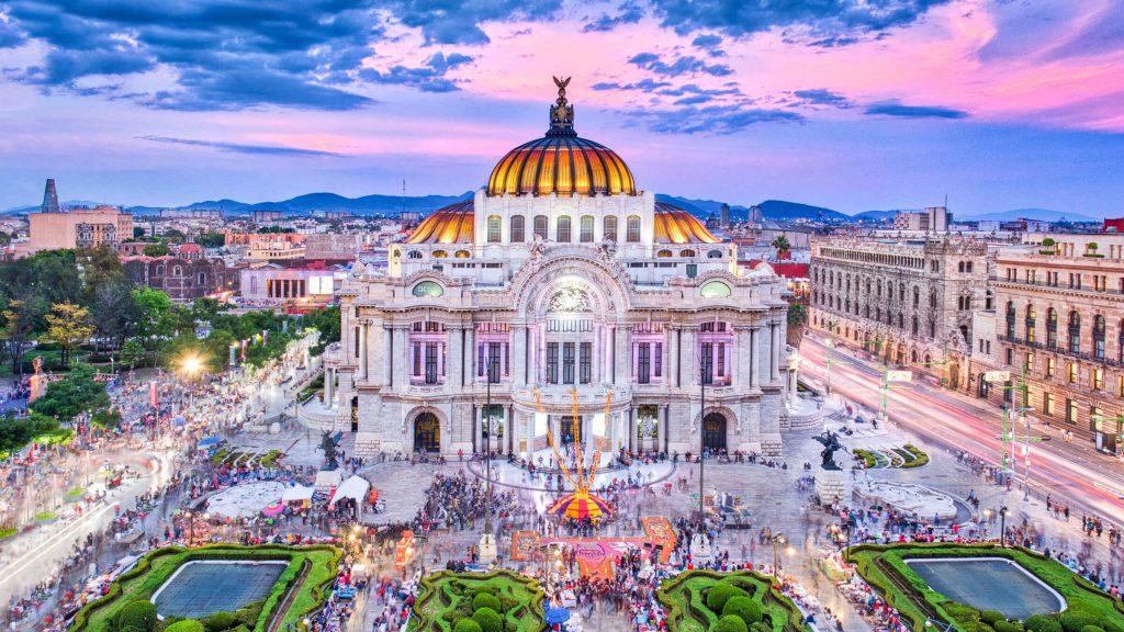 alameda central de México
